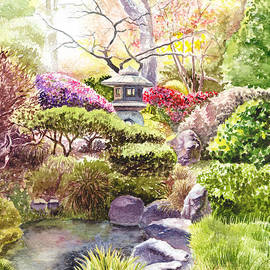Irina Sztukowski - San Francisco Golden Gate Park Japanese Tea Garden