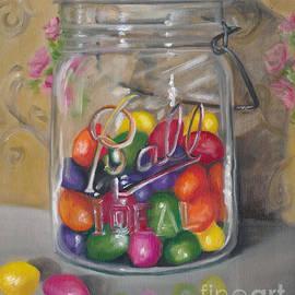 Marnie Bourque - Jar of jellybeans