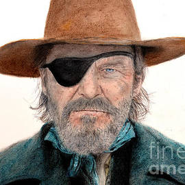 Jim Fitzpatrick - Jeff Bridges as U.S. Marshal Rooster Cogburn in True Grit