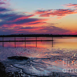 Dawna  Moore Photography - Jekyll Sunset Jekyll Island Georgia