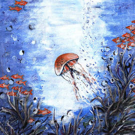 Rajitha Nambiar -    Under water