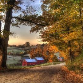 Joann Vitali - Jenne Farm - Autumn in Vermont