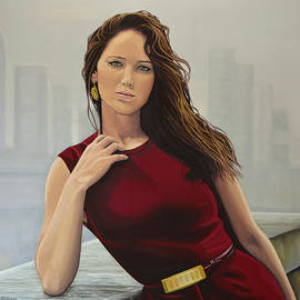 Paul  Meijering - Jennifer Lawrence