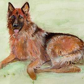 Veronica Rickard - Jessie-painting