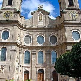 Elzbieta Fazel - Jesuit Church in Innsbruck Austria