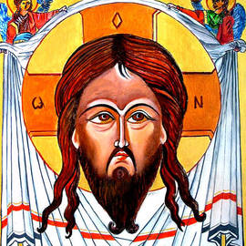 Ryszard Sleczka - Jesus Christ Mandylion Icon