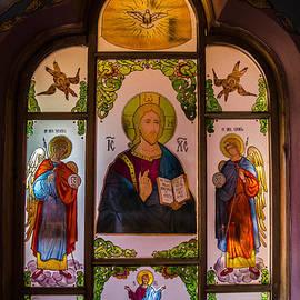 Claud Religious Art - Jesus with Archangels