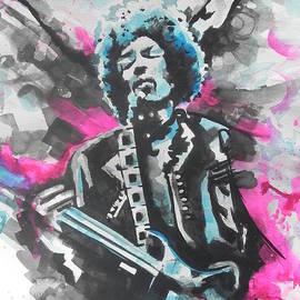 Chrisann Ellis - Jimi Hendrix  01