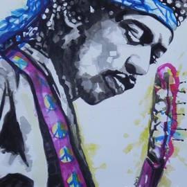 Chrisann Ellis - Jimi Hendrix  02