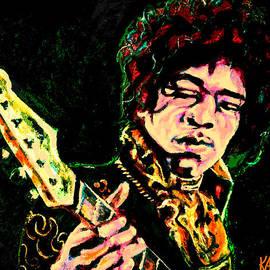 Art by Kar - Jimi Hendrix Digital Piece