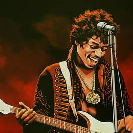 Paul  Meijering - Jimi Hendrix