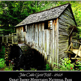 Stephen Stookey - John Cable Grist Mill - Poster