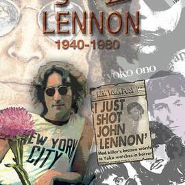 Melinda Saminski - John Lennon Memorial Collage