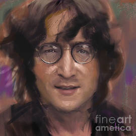 Dominique Amendola - John Lennon portrait