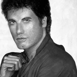 Alan Armstrong - # 1 John Travolta portrait.
