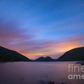 Michael Ver Sprill - Jordan Pond Blue Hour