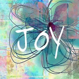 Ann Powell - Joy -abstract flower art
