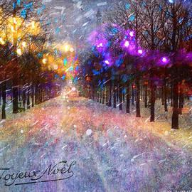 R christopher Vest - Joyeux Noel Paris Winter Fantasy