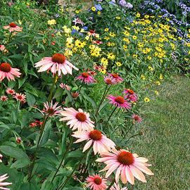 Jean Hall - July Garden