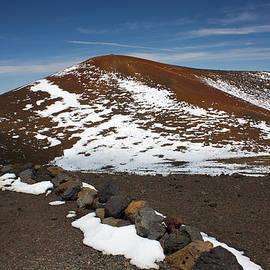 Venetia Featherstone-Witty - June Snowfall on Mauna Kea Volcano
