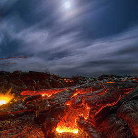 Hawaii  Fine Art Photography - Molten Dream