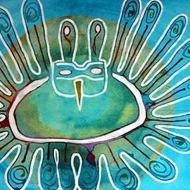 Sol Luckman - Kachina Was a Dancer original painting