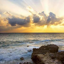 Brian Harig - Kaena Point State Park Sunset 2 - Oahu Hawaii