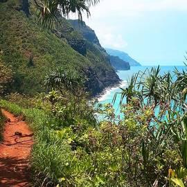 Joseph J Stevens - Kalalau Trail on Kauai