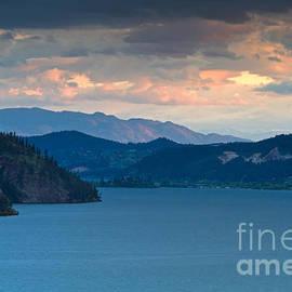 Michael Russell - Kalamalka Lake Sunset