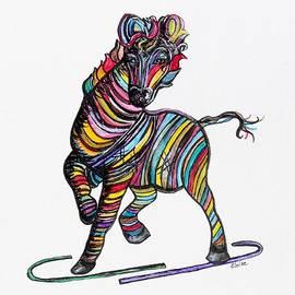 Eloise Schneider - Kaleidoscope Zebra -- Baby Strut Your Stuff
