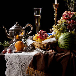 Levin Rodriguez - Kalf - Banquet with Fruits