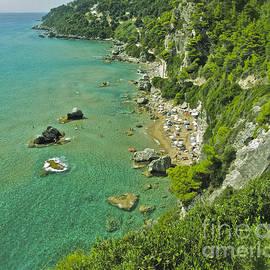 Andrzej Goszcz  -  Mirtiotissa Beach . Corfu . Greece.