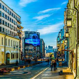 Alexander Senin - Kamergersky Lane of Moscow 1