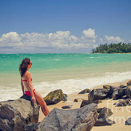 Sharon Mau - Kanaha Beach Kahului Maui Hawaii