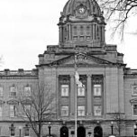 Don Baker - Kankakee Court House Panorama Winter