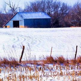Anna Surface - Kansas Winter Field Barn 2