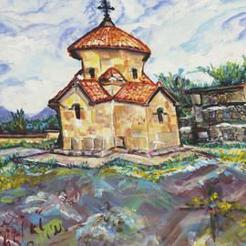 Helena Bebirian - Karmravor Church VII Century Armenia