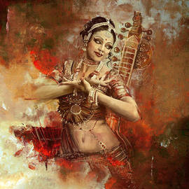 Corporate Art Task Force - Kathak dancer