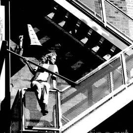Gary Gingrich Galleries - Katie-Fire Escape