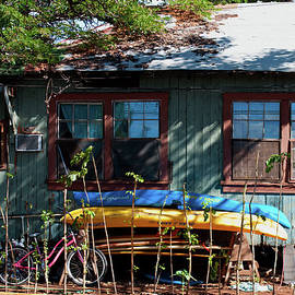 Paulette B Wright - Kayaks Surfboards and Bikes - The Good Life