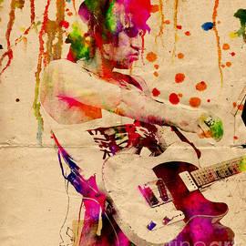 Ryan RockChromatic - Keith Richards - The Rolling Stones