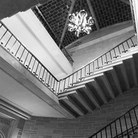 University Icons - Kenyon College Peirce Hall Stairway
