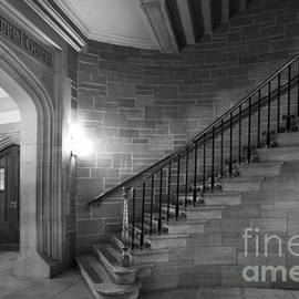 University Icons - Kenyon College Peirce Stairway
