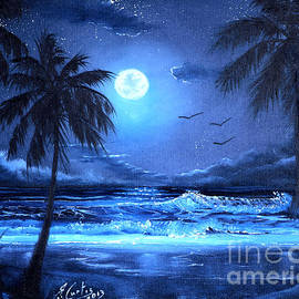 Earl Butch Curtis - Key West by Moonlight