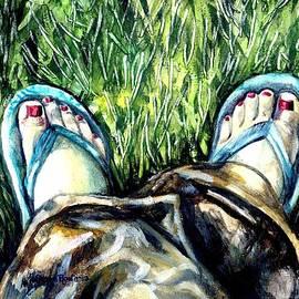 Shana Rowe - Khaki Pants and Flip Flops