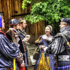 John Straton - King Arthur With Court at Gandalf