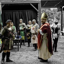 John Straton - King Macbeth of Scotland with The Bishop