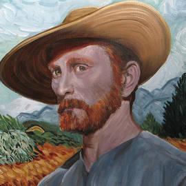 Jerry Valenti - Kirk Douglas as Van Gogh