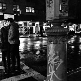 Miriam Danar - Kissing Couple - Night - New York City