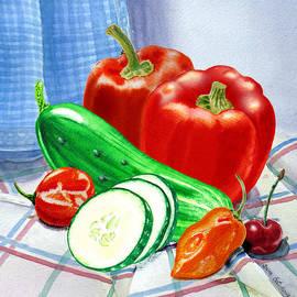 Irina Sztukowski - Kitchen Still LIfe Sweet And Spicy